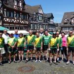 Die Radler treffen sich in Braunfels
